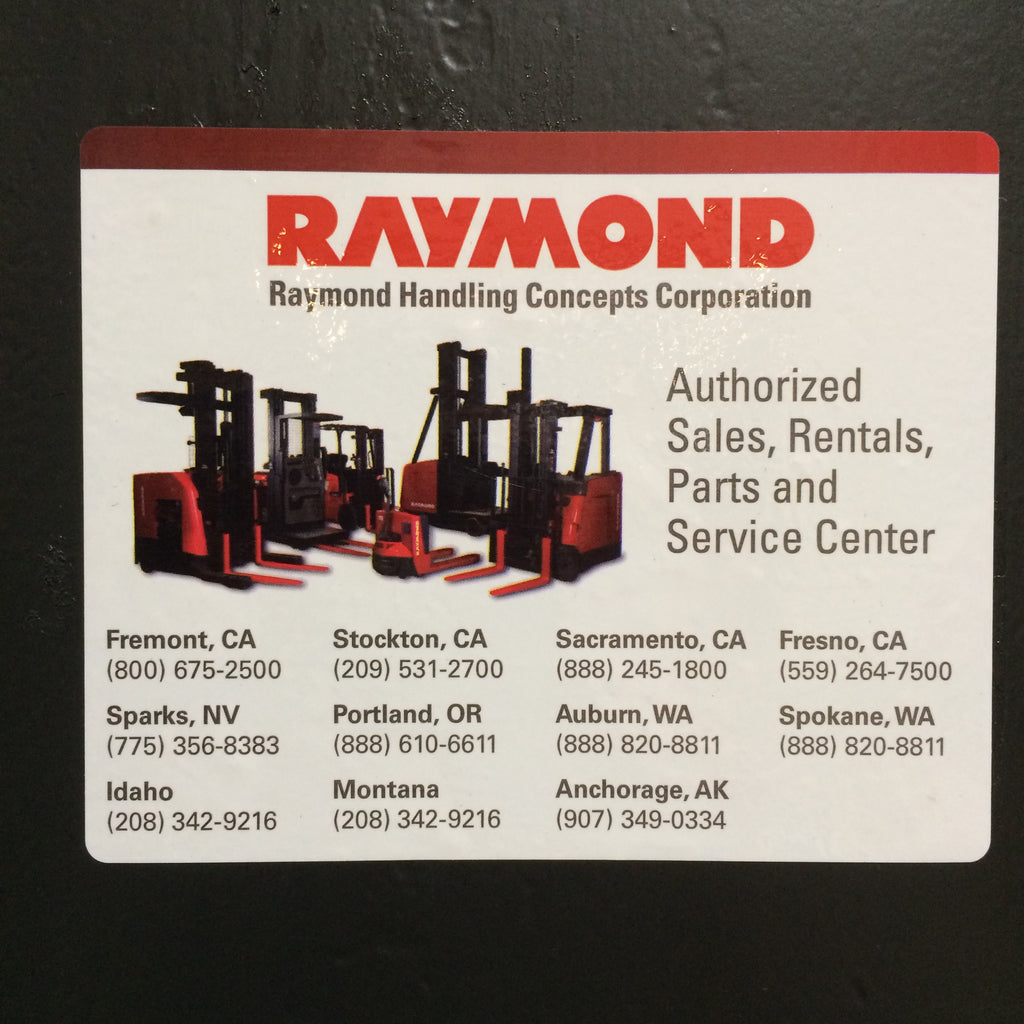 Let Raymond be the solution to all your warehouse needs