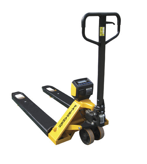 pallet weigh plus pallet jack scale materials handling store by