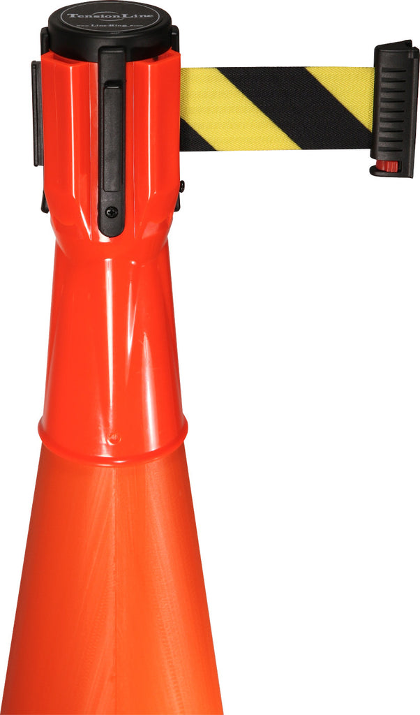 Retracta-Belt Cone Toppers