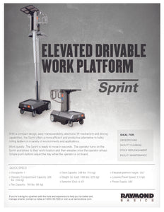 Sprint Warehouse Lifts Single Man Lift