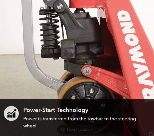 Power Start Assist Hand Pallet Jack - PST23
