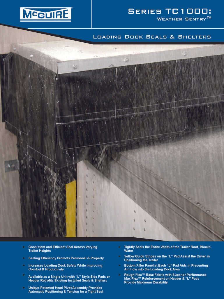 TC1000 Weather Sentry Dock Shelter