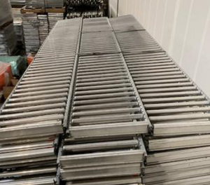 "Used Unex Span track 12"" wide x 102"" long"