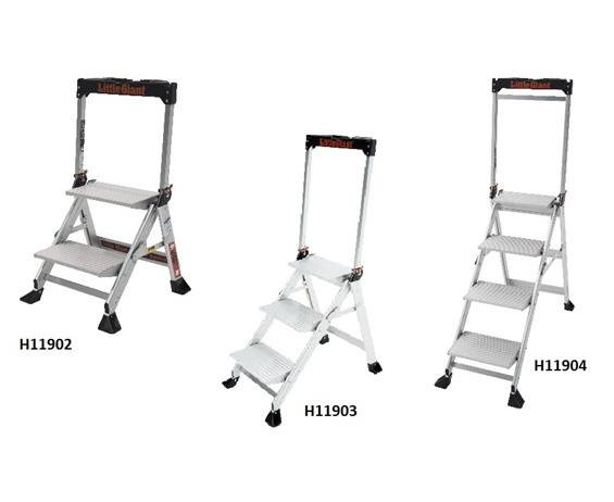 Jumbo Step Safety Stepladder