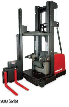 Swing Reach Lift Truck Used Materials Handling Store By