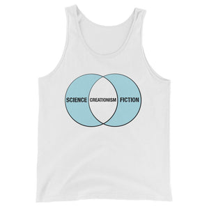 Creationism is Fiction- Unisex  Tank Top