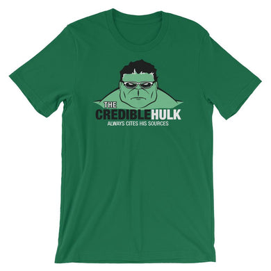 The Credible Hulk- Short-Sleeve Unisex T-Shirt