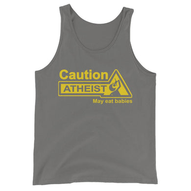 Caution, Atheist Tank