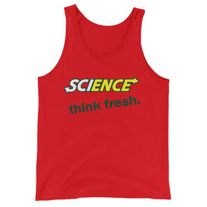 Science, Think Fresh- Unisex  Tank Top