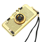 Camera Phone Case Luxury Electroplating Soft For iPhone 7 & 8 Plus 5.5in.