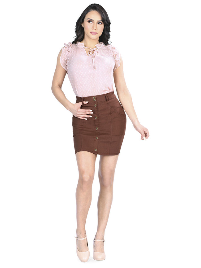 Falda Stretch CODIGO 40554