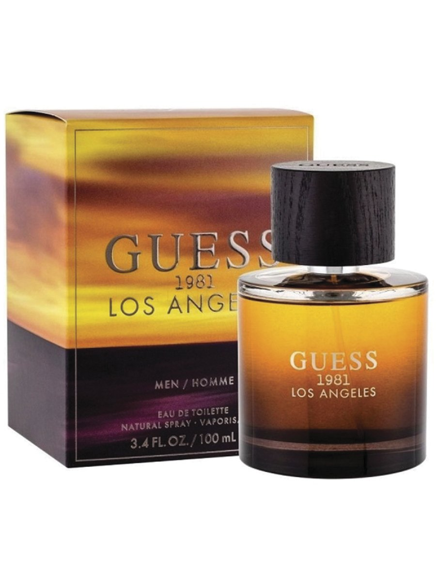 Perfume para Caballero GUESS * 1981 LOS ANGELES MEN 3.4 OZ EDT SPRAY