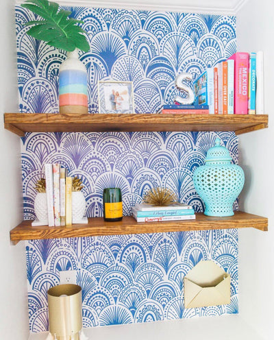 6 Beginner Peel & Stick Wallpaper Projects
