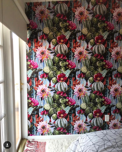Easy Upgrade: Wallpaper Your Guest Room