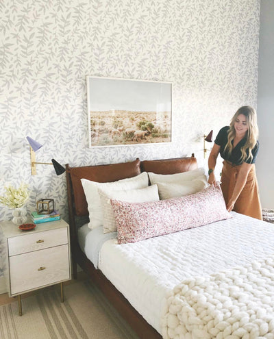 How to Mix Wallpaper Into Your Decor