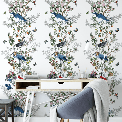 Sneak Peek: New Nature-Inspired Wallpaper