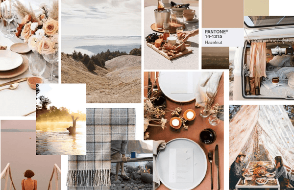 Light and Airy mood board