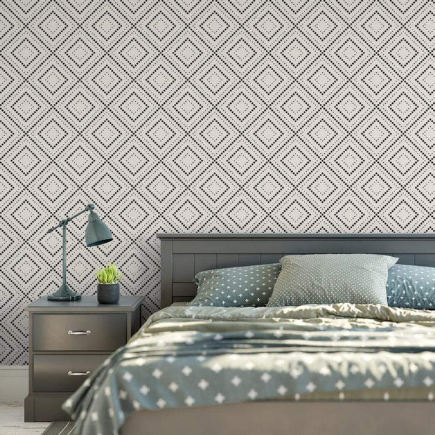 MUSE Wall Studio Abstract Diamond Dots