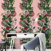MUSE Wall Studio Artful Aviary in Pink