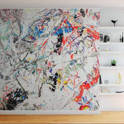 MUSE Wall Studio Artist Loft Splatter Paint Wall Mural