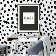 MUSE Wall Studio Special Order Spotty Dalmatian Large Wall Mural 109x130