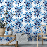 MUSE Wall Studio Blue Blooms