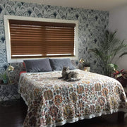 MUSE Wall Studio Blue Bohemian Scallops