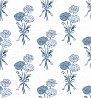MUSE Wall Studio Blue Poppies