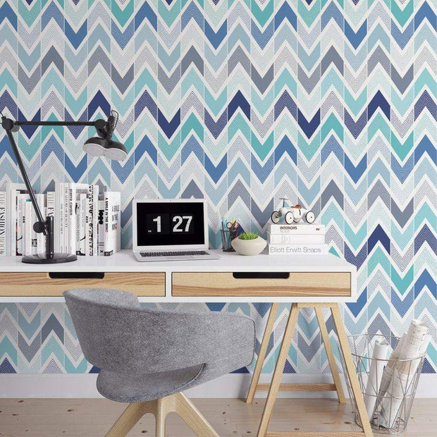 MUSE Wall Studio Cool Your Jets Chevron