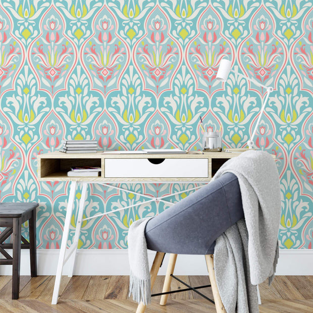 MUSE Wall Studio Citron Damask