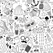 MUSE Wall Studio Party Favor Doodle Wallpaper