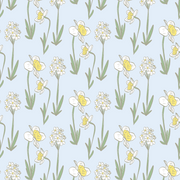 MUSE Wall Studio Daffodils in Blue