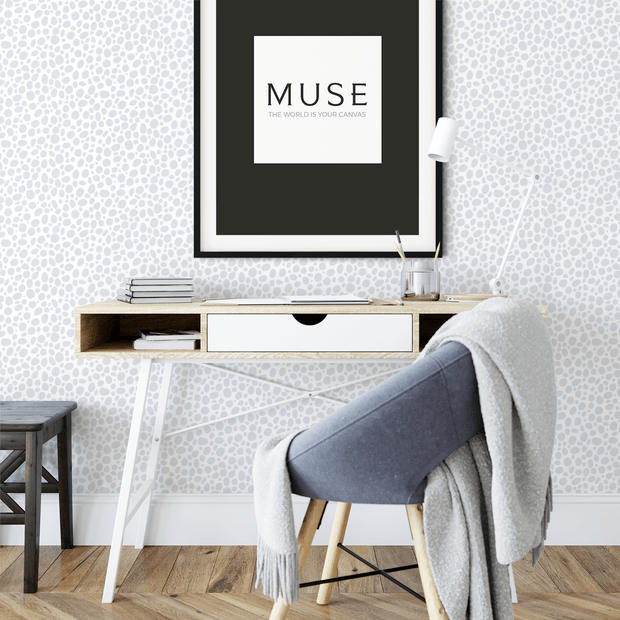 MUSE Wall Studio Enchanting Blue Dots