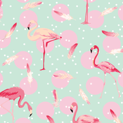 MUSE Wall Studio Flamingo Feathers
