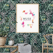 MUSE Wall Studio Geometric Botany