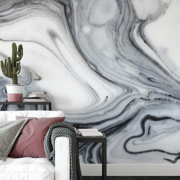 MUSE Wall Studio Marble Stone Modern Wall Mural