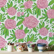 MUSE Wall Studio Market Peonies in Blush