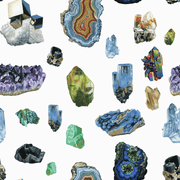 MUSE Wall Studio Material Minerals on White