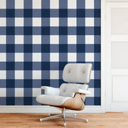 MUSE Wall Studio Navy Gingham