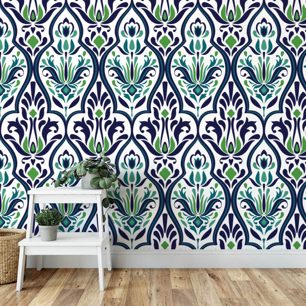 MUSE Wall Studio Ocean Park Damask