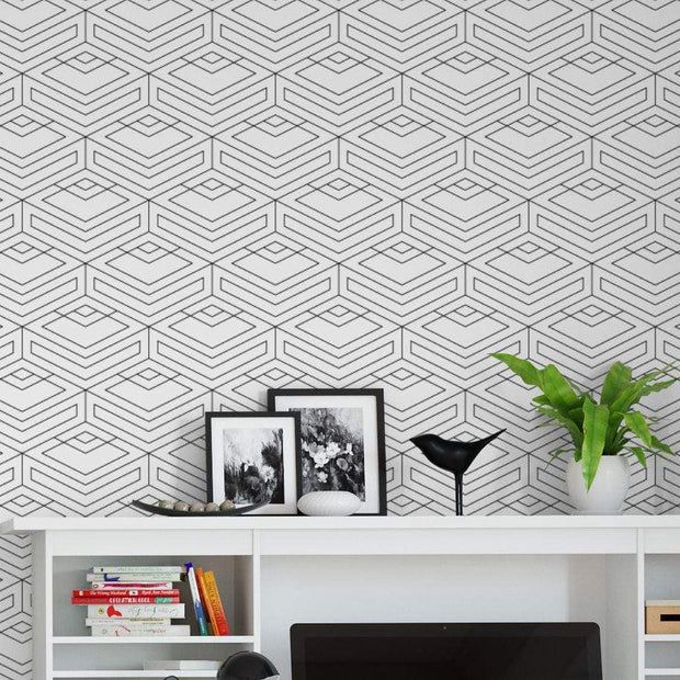 MUSE Wall Studio Out of the Box Black and White Geometric