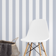 MUSE Wall Studio Perfect Pinstripes in Blue