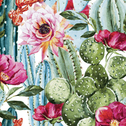MUSE Wall Studio Watercolor Succulents