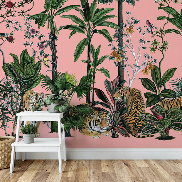 MUSE Wall Studio Tiger Summer in Pink