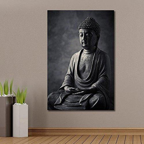 Lord Buddha Canvas Unframed Wall Art Painting