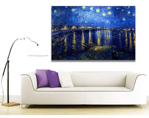 Starry Night - Over the Rhone Painting by Vincent Van Gogh