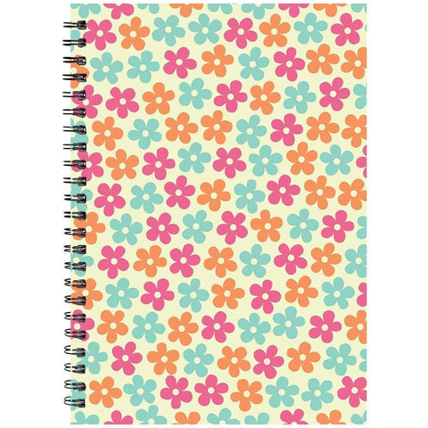 Flowers Printed Designer Notebooks-khirki.in