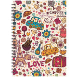 Designer Notebook for Personal Diary, Notes & Planner-A5 Size 140 Pages