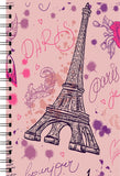 Eiffel Tower Printed Designer Notebook