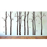 Birch Tree Branches Wall Decal Sticker
